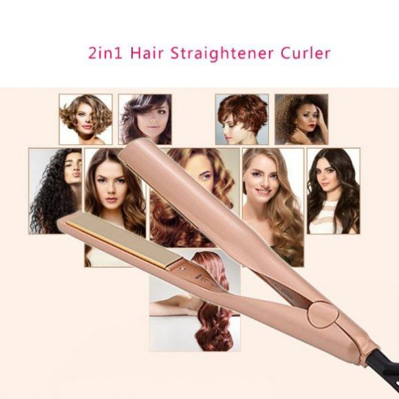 "new style hair straightener 1"" flat iron"